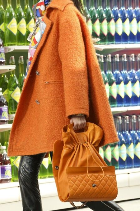 Chanel orange FW14
